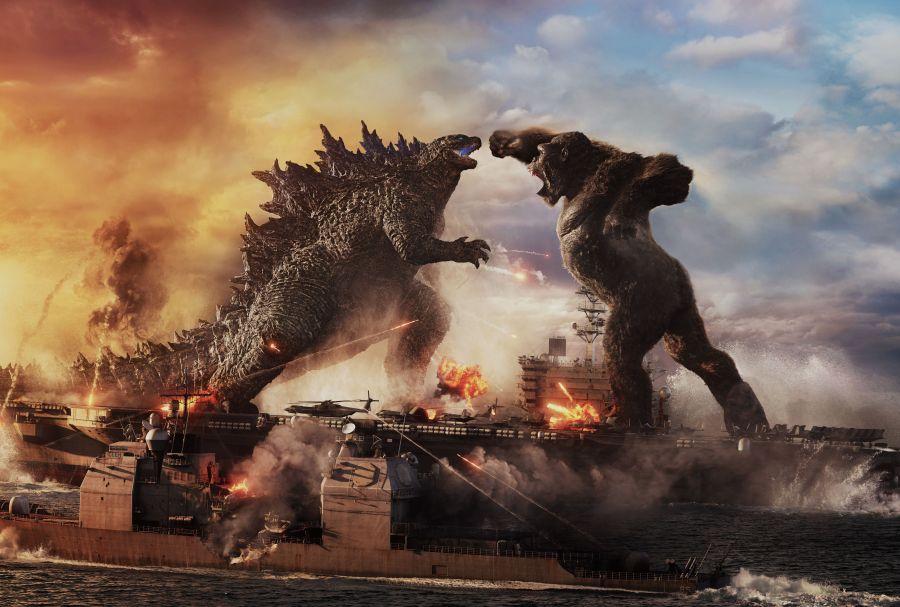 Cine a salvat, de fapt, cinematografia. Godzilla vs Kong, cei doi titani care au reînviat box-office-ul înSUA